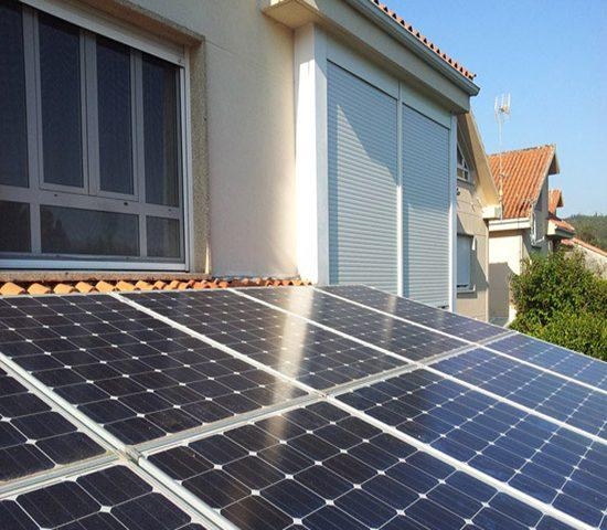 radiación solar vivienda